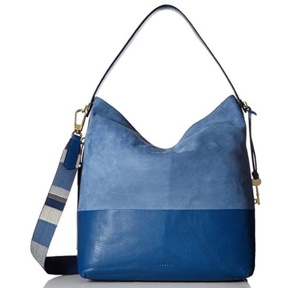 e2335a387 Fossil Bags | Cornflower Blue Maya Large Hobo | Poshmark